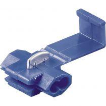 Connecteur rapide pour voiture bleu